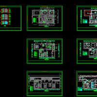 两层别墅电气设计图带电路系统图