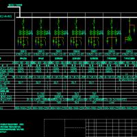 10kV变电站全套电气设计图纸