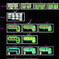 重庆7层廉租房电气专业设计图(设计详细)