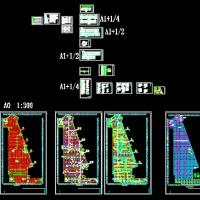重庆某大型地下车库电气设计图纸