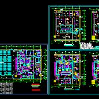 5000平米厨房设备图及配电图