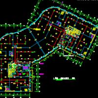 南方23层一类高层商住楼电气设计图