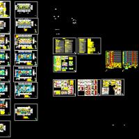 江苏某22层住宅楼全套电气设计施工图纸