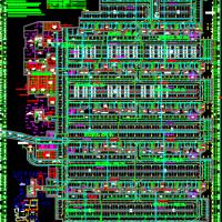 重庆某大型地下车库电气设计全套图纸(含说明)