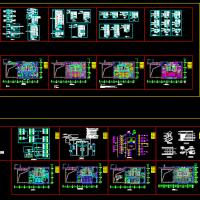北京某高层数据机房强弱电详细设计图