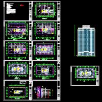 兰州某高层酒店多媒体背景广播系统设计图