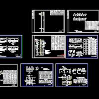 10kV供电线路架杆金具设计图纸