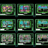 医院智能化全套设计图纸(共16个系统)