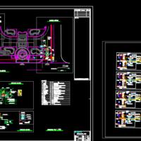 停车场管理系统图及平面图