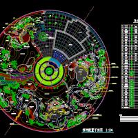 6个园林绿化植物配置设计图块详图