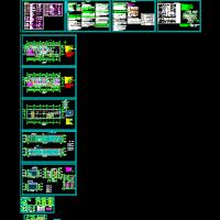 某地两层框架结构敬老院建筑设计图