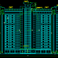 18层住院楼建筑设计施工图纸