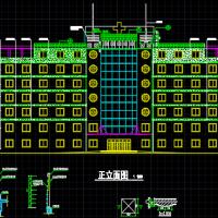 某七层医院住院部建筑设计全套图