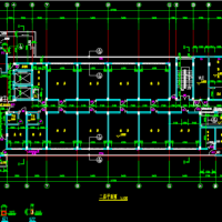 某五层精神病疗养院全套建筑图