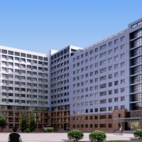 山东某13层医院病房综合楼建筑设计方案图(含效果及说明)
