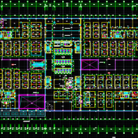 山东某大型医院建筑设计施工图纸