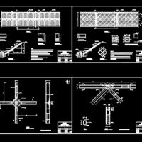 公路护坡处理设计施工图纸(优秀护坡资料)