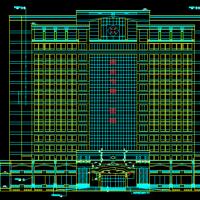 河北某地医院综合楼建筑设计施工图纸