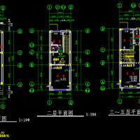 4X11.2米多层砖混结构自建房建筑及结构全套图