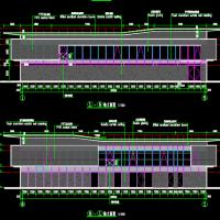 比赛急救楼两层建筑设计图