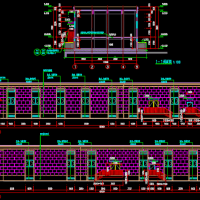 某住宅小区变电房建筑设计图