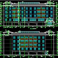 贵州五层公寓楼建筑及结构图(3700平米)