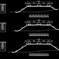路基宽24.5mI级公路毕业设计(总体|路线|路基|路面及排水|桥梁|涵洞|交通工程)