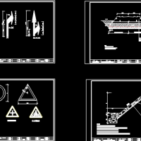 30米城市次干道标准毕业设计(说明书61页,土方量计算表,图纸25张1711.76米长)