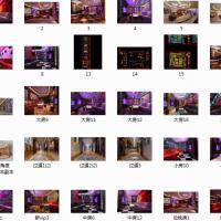 欢乐100量贩式KTV室内装修设计全套图(含效果)
