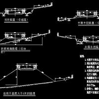 3.8KM双车道山岭重丘区二级公路毕业设计(计算书64页)