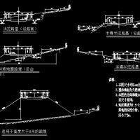 路基宽12米二级公路毕业设计图(说明书14页土方表)5.165KM