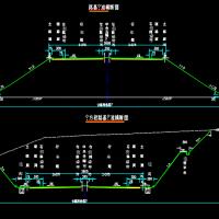 双向四车道高速公路毕业设计(计算书图纸总长5128m)