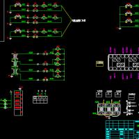 HXGN-12高压环网柜二次原理图