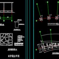 凉棚建筑及结构施工图
