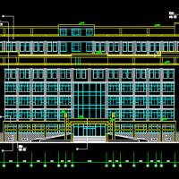 某七层框架结构办公楼建筑设计施工图纸