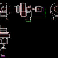 风机CAD图块汇总