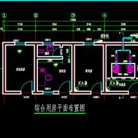 某污水处理厂配电房建筑结构设计图