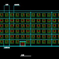 六层框架结构教学楼建筑结构毕业设计图(5283平米)