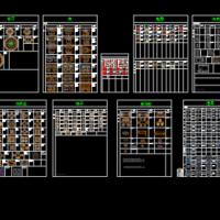 工装设计CAD图块(办公桌沙发电器运动健身)