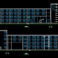六层框架宾馆建筑结构毕业设计图纸(5162平米)