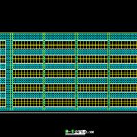 6层框架教学楼建筑结构课程设计图纸(2868平米)