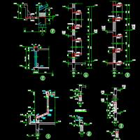 老虎窗结构详图 顠窗结构详图 檐口结构详图