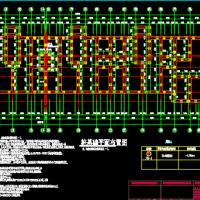 黑龙江七层砖混结构住宅楼结构图(沉管灌注桩)