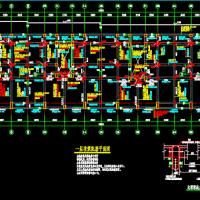 底部框架抗震墙上部砌体结构住宅结构图(底框结构图)