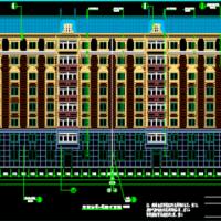 北方某城市既有建筑节能综合改造项目设计图纸