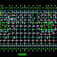 18层框架剪力墙结构酒店结构施工图纸(51张图)