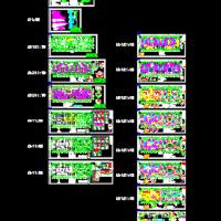 武汉18层剪力墙结构住宅楼结构施工图纸(钻孔灌注桩)