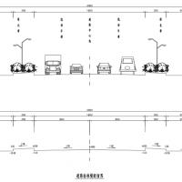 1236.022米次干道路工程全套施工图纸(含桥梁、路灯、排水)纬三路