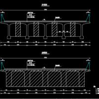 桥梁35米预应力连续T梁通用图30张