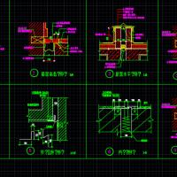 精心整理的多个变形缝节点详图